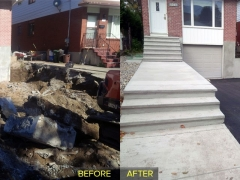 jamROCK Ltd. The Ottawa Concrete Company - Before & After Pictures