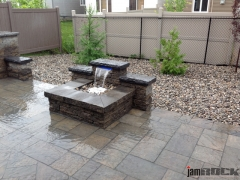 Interlock Landscaping Fountains by jamROCK Ltd. - Ottawa, Ontario