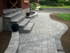 Interlock Landscaping Walkway by jamROCK Ltd. - Ottawa, Ontario