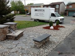 Interlock Landscaping Fountains by jamROCK Ltd. - Ottawa, Ontario