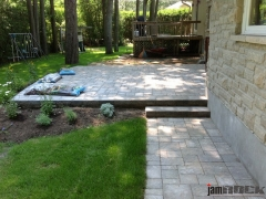 Interlock Landscaping Patio by jamROCK Ltd. - Ottawa, Ontario